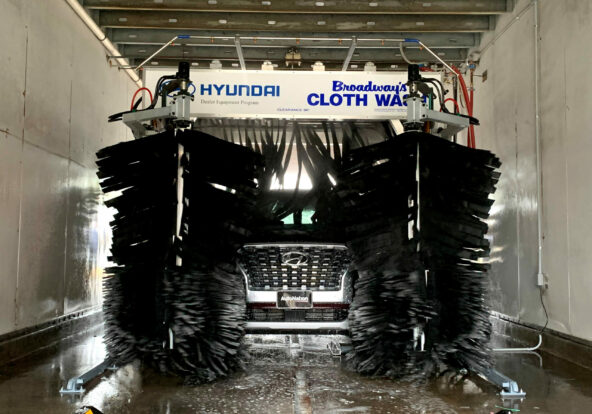 New England Car Care Completed Car Wash